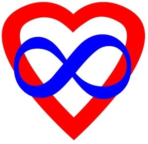 Polyamory heart infinity